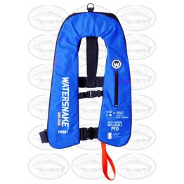Watersnake PFD Inflatable Life Jacket 150 Child (25-40kg) - Blue