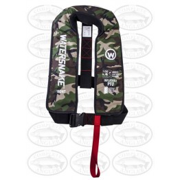 Watersnake PFD Inflatable Life Jacket 150 Adult (40kg+) - Camo