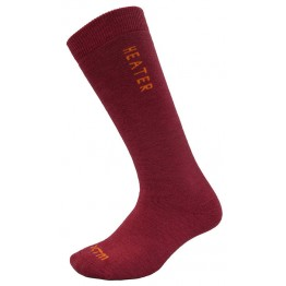 XTM Heater Adult Ski Sock Deep Pink